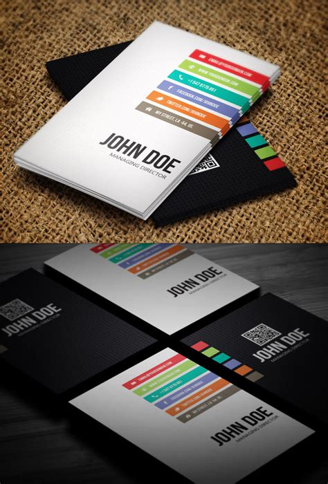 Graphic Design Card Templates Psd Free by 15 Premium Business Card Templates In Photoshop