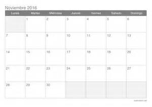 calendario noviembre 2016 para imprimir icalendario net