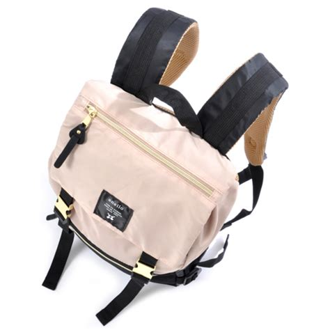 Ransel Anello Anello 433 Anello Mini Backpack 4 Ruang anello tas ransel buckle khaki jakartanotebook