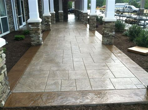 decorative concrete patio sted concrete patterns patio traditional with ashlar