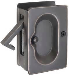 emtek passage pocket door lock shop pocket door hardware