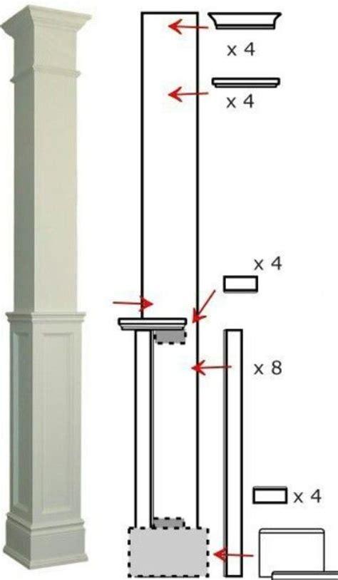 post detail misc house ideas pinterest as wide as original columns on plan paint top trimmings