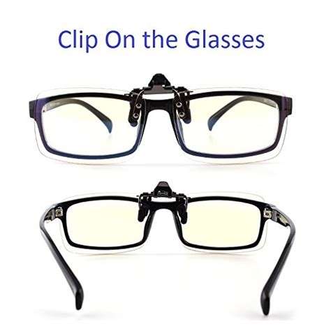 reading glasses with blue light filter cyxus blue light filter uv blocking glasses clip on anti