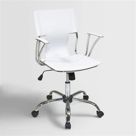 World Market Desk Chair by White Ethan Office Chair World Market