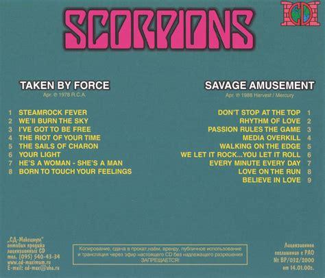 Cd Scorpions Taken By scorpions cd taken by savage amusement