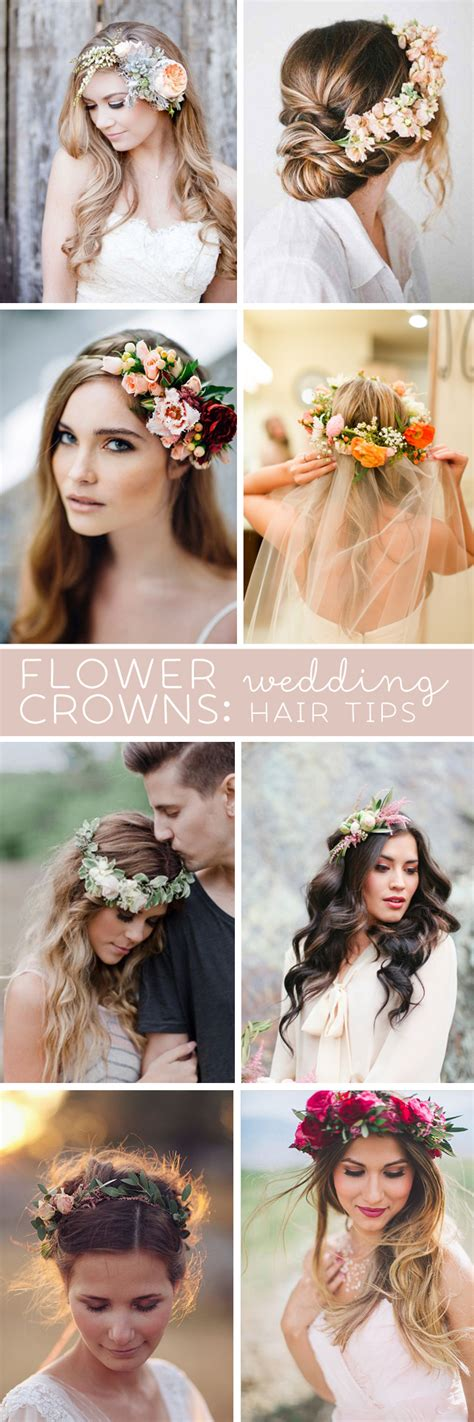 Wedding Hair Flower Real Or by Awesome Wedding Hair Tips For Wearing Flower Crowns