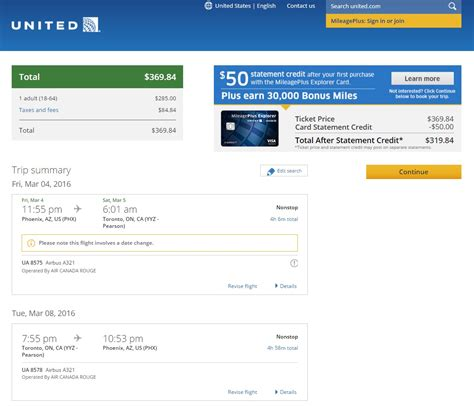 United Checked Bag Cost by 370 Phoenix To Toronto Nonstop R T Fly Com Travel Blog