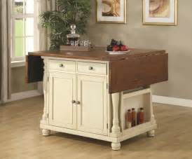 Kitchen Islands Table by Country Cottage Kitchen Island Table With Drop Leaves