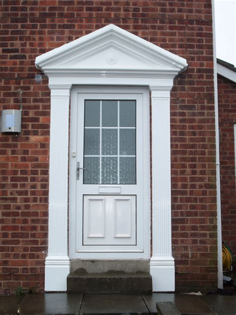 Exterior Door Surrounds Building Plastics Direct Door Surround