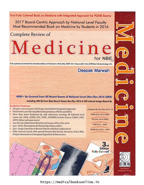 nbe pattern questions complete review of medicine for nbe medical bookstore