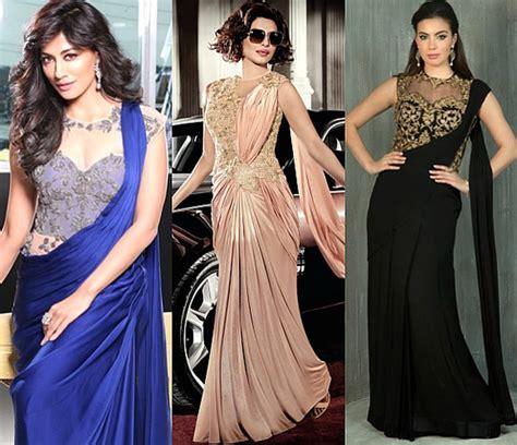 latest half sarees designs 2016 gorgeous saree fashion trends for 2016 desiblitz