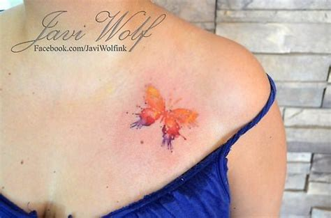 watercolor tattoo javi wolf wear a of living with a javi wolf
