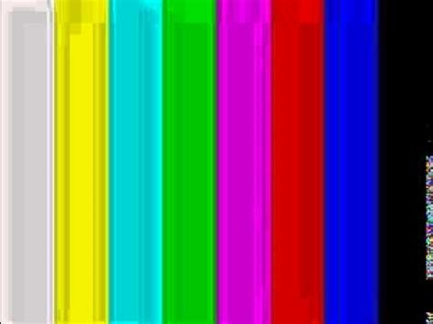 pattern bar youtube color bars tv test pattern youtube