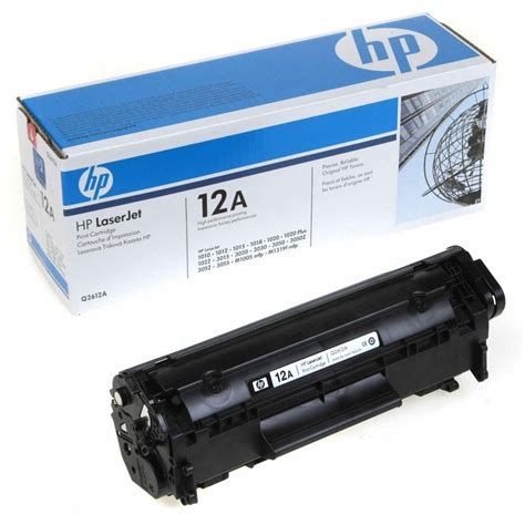 Toner Q2612a 2 genuine hp 12a laserjet toner cartridges q2612a sealed