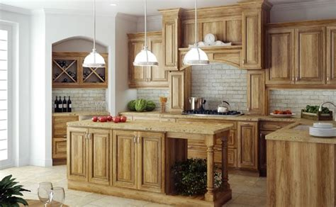 hton natural hickory kitchen cabinets rustic hickory cabinets canyon creek cabinet company