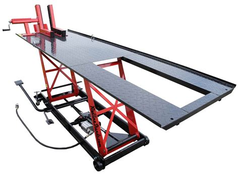 motorcycle lift bench redline ld1k 1000 lb light duty motorcycle lift table