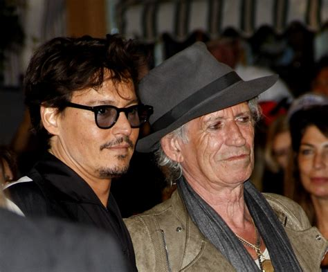 Johnny Depp Was Scared To Jam With Keith Richards by Realtvcritics 187 News Sports Politics Entertainmentblame