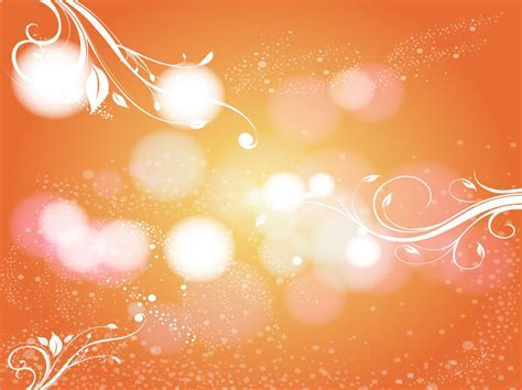 Wedding Background Orange by Orange Scroll Background Image Vector Graphics