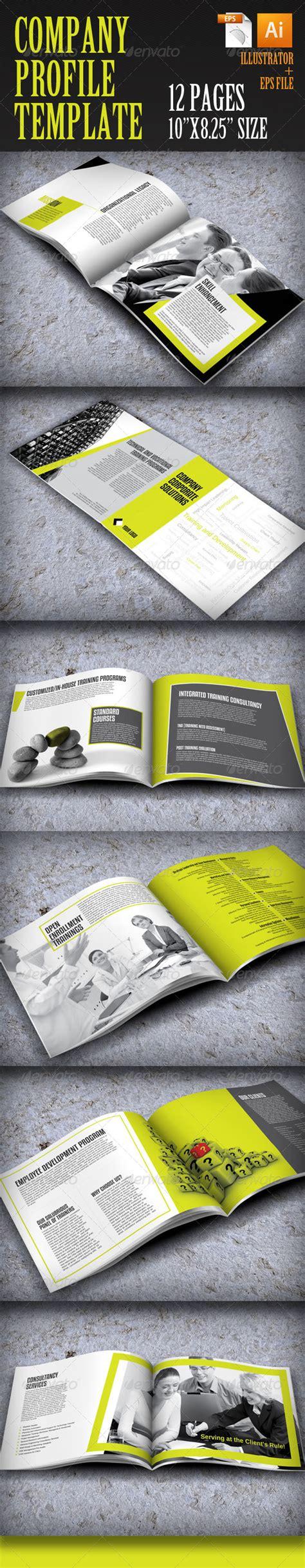 company profile design envato company profile template by zonkash graphicriver
