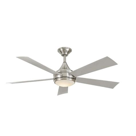 outdoor ceiling fans with led lights home decorators collection hanlon 52 in led indoor