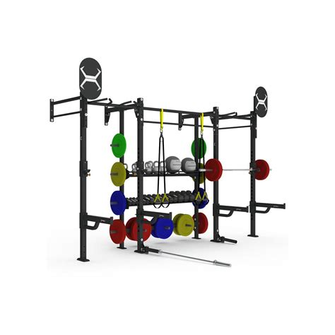 The Rack Web 14 X 4 Wall Mounted Weight Station With Storage