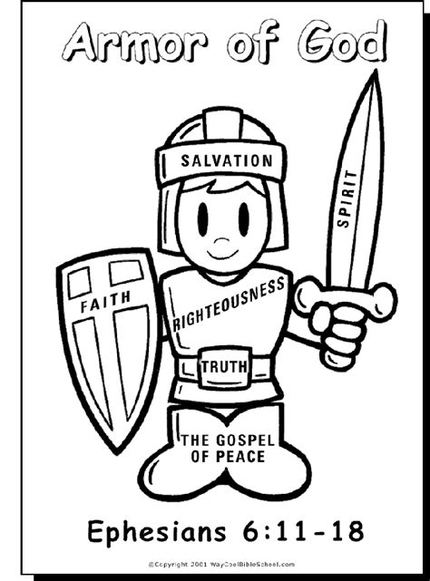 coloring pages god armor of god coloring pages coloring home