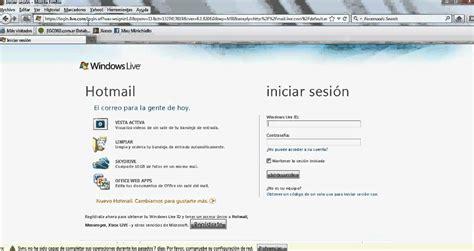 bandeja de entrada msn hotmail iniciar sesion bandeja de entrada