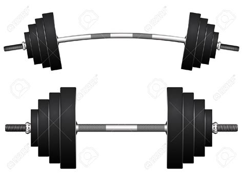 Set Kulo Bell Monocrome Hnc barbell clipart black and white clipground