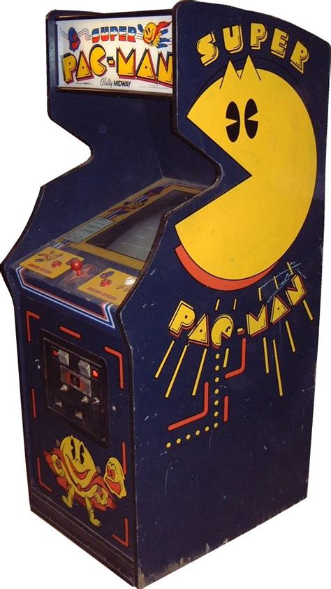 super pac man arcade cabinet super pac man videogame by bally midway