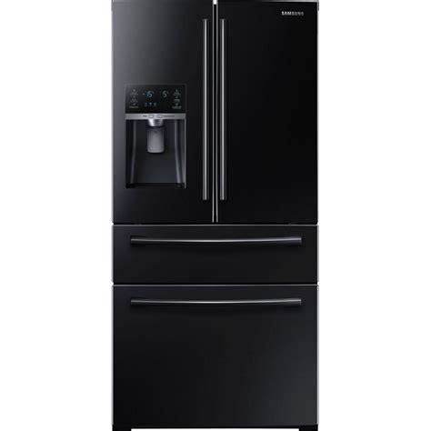 black samsung door refrigerator samsung 28 15 cu ft 4 door door refrigerator in