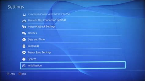 reset ps3 video settings no picture how to factory reset your playstation 4