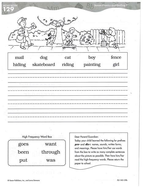 Phonics For 1st Grade Worksheets by Worksheet Saxon Phonics Worksheets Caytailoc Free