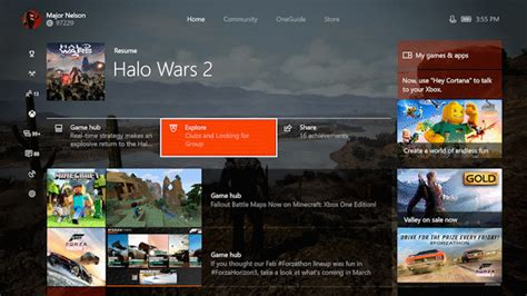 xbox one home layout change xbox one gets beam streaming a new guide and more
