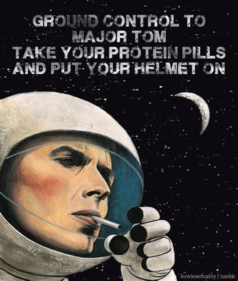s day lyrics david bowie meaning ground to major tom can you hear me all