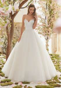 wedding dresses for brides duchess satin and tulle gown wedding dress style 6831 morilee