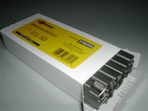 staples for upholstery stainless steel 71 c series staples 3 16 quot for bea