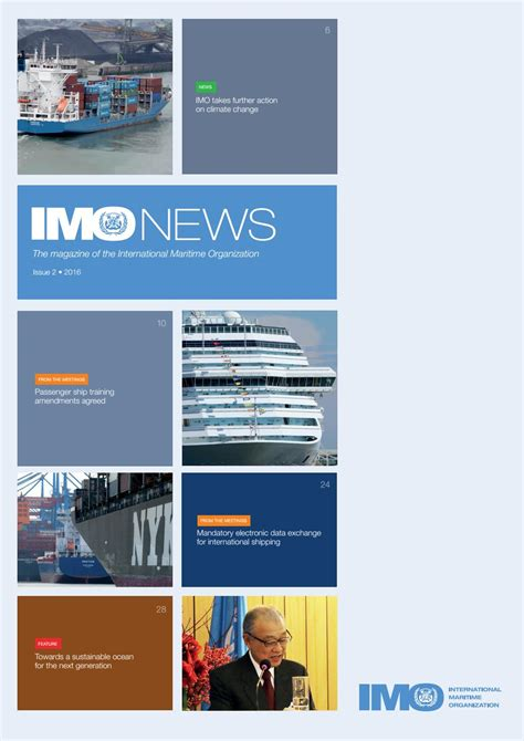 Mba Courses Related To Shipping by Imo News Issue 2 2016 By Imo News Magazine Issuu