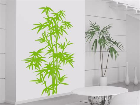 wandtattoo asiatisch wandtattoo bambus pflanze wandtattoo natur asiatisch