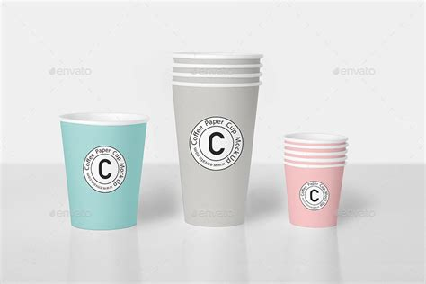 cup design mockup coffee cup mock up bundle by 8pmdesign graphicriver