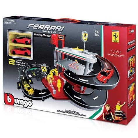 Tobar Burago Testarossa 1 24 Scale New In Unopened Box Mint 1 43 parking garage tobar wholesalers