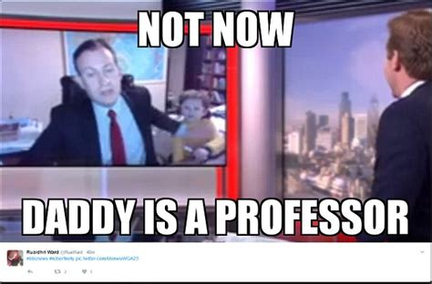 Bbc Memes - professor becomes internet meme legend after bbc interview