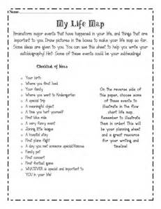 Autobiography Template For Middle School by M 225 S De 1000 Ideas Sobre Autobiography Writing En
