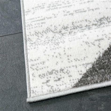 teppich geometrisches muster teppich wohnzimmer modern geometrisches muster meliert in