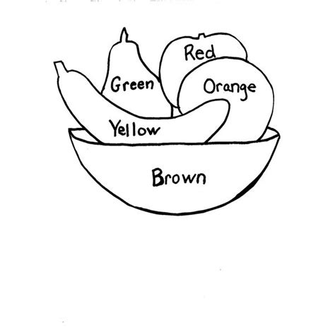 coloring pages fruits preschool preschool fruit crafts for fruit food or nutrition