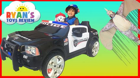 for kids police vs police car power wheels ride on for kids paw patrol chase