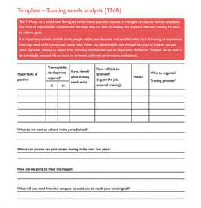 Needs Analysis Questions Template by Needs Assessment 10 Free Sles Exles