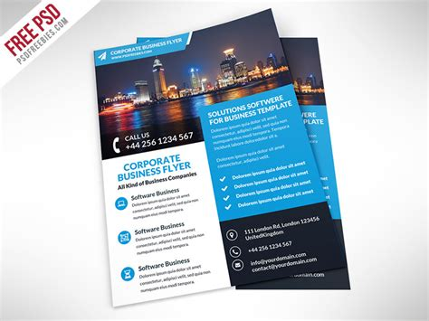 layout flyer psd 50 business corporate flyer psd templates with