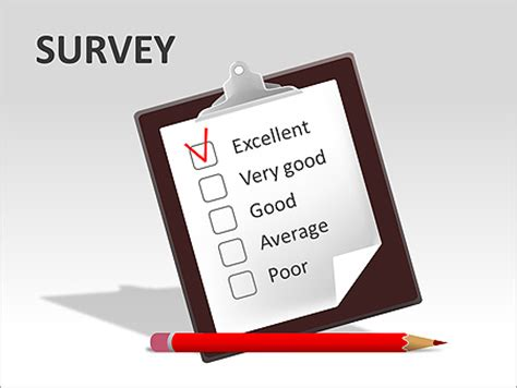 sondaggio gli schemi e diagrammi per powerpoint design