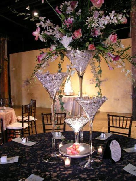 Martini Glass Centerpiece Ideas Revi S Blog Charlie Martini Glasses Wedding Centerpieces