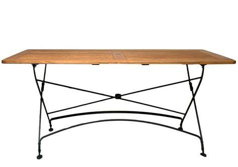 rectangular bistro table felicia folding 63 rectangular bistro table